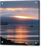 Sunrise Over Kachemak Bay Acrylic Print
