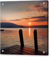 Sunrise Over Keuka IIi Acrylic Print by Steven Ainsworth
