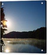 Sunrise Over Lake Lainer Acrylic Print