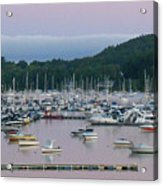 Sunrise Over Mallets Bay Panorama - Two Acrylic Print
