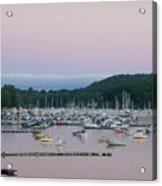Sunrise Over Mallets Bay Variations - Two Acrylic Print