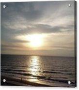 Sunrise Over Myrtle Beach, Sc Acrylic Print