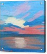 Sunrise Over Ocean City Maryland Acrylic Print