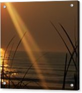 Sunrise Over The Atlantic Acrylic Print