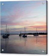 Sunrise Over The Atlantic Ocean Acrylic Print