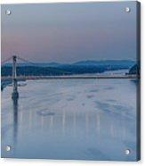 Sunrise Over The Hudson Acrylic Print