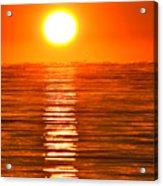 Sunrise Over The Lake 2 Acrylic Print