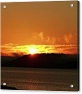 Sunrise Over The Lake Acrylic Print