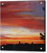 Sunrise Over The Little Miami Acrylic Print