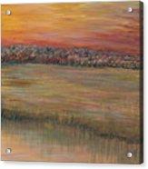 Sunrise Over The Marsh Part II Acrylic Print