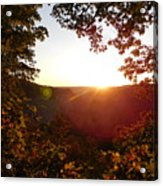 Sunrise Over The Mountain  Acrylic Print