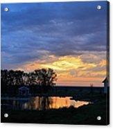 Sunrise Over The Pond Acrylic Print