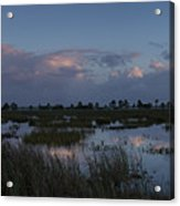 Sunrise Over The Wetlands Acrylic Print