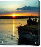 Sunrise Over Wilson Lake Acrylic Print