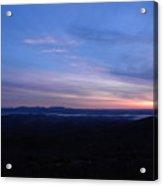 Sunrise Point On Highway 7 Acrylic Print