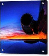 Sunrise Pre Flight Acrylic Print
