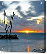 Sunrise Punta Cana Acrylic Print