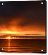 Sunrise Rays Acrylic Print