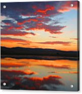 Sunrise Refection Acrylic Print