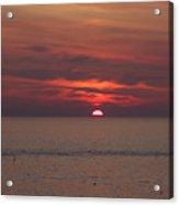Sunrise Rockport Ma Acrylic Print