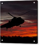 Sunrise Search And Rescue Acrylic Print