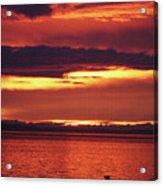 Sunrise Sekiu Washington Acrylic Print
