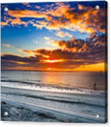 Sunrise Serenades The Beach Acrylic Print