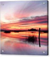 Sunrise Sunset Art Photo - Sailing By Jo Ann Tomaselli    Acrylic Print
