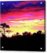 Sunrise Sunset Delight Or Warning Acrylic Print