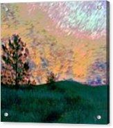 Sunrise-sunset Acrylic Print