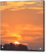 Sunrise Through Clouds 2451 Acrylic Print