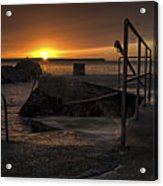 Sunrise Tramore Acrylic Print