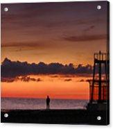 Sunrise Watcher Acrylic Print