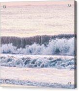 Sunrise Waves  Acrylic Print