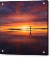 Sunrise Yoga Acrylic Print