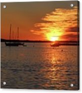 Sun's Up Provincetown Pier 3 Acrylic Print