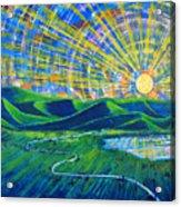 Sunscape Acrylic Print by Rollin Kocsis