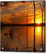 sunset @ Reservoir Acrylic Print