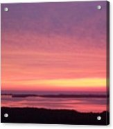 Sunset 0029 Acrylic Print