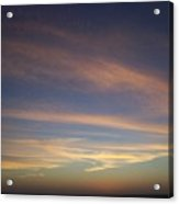 Sunset 0039 Acrylic Print