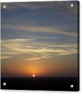 Sunset 0040 Acrylic Print