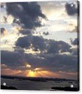 Sunset 0046 Acrylic Print