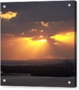 Sunset 0047 Acrylic Print