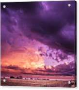 Sunset #10 Acrylic Print