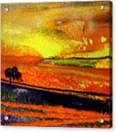 Sunset 15 Acrylic Print