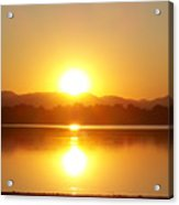 Sunset 2 Acrylic Print by Travis Wilson