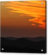 Sunset-3 Acrylic Print by Fabio Giannini