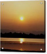 Sunset 4 Acrylic Print by Travis Wilson