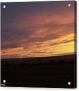 Sunset - 50 Acrylic Print