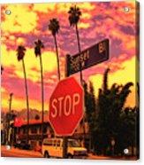 Sunset 7700w Acrylic Print